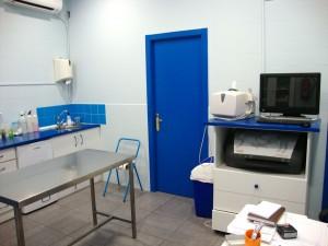 Sala de Consultas Clinica Veterinaria San Anton en Tomelloso